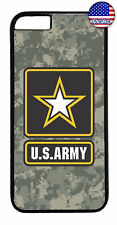 Camo US Army Military United States Case Cover iPhone Xs Max XR X 8 7 6 Plus 5 4