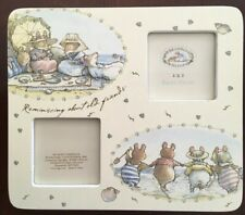 "Brambly Hedge Jill Barklem ""Reminiscing about old friends"" Picture Frame Retired"