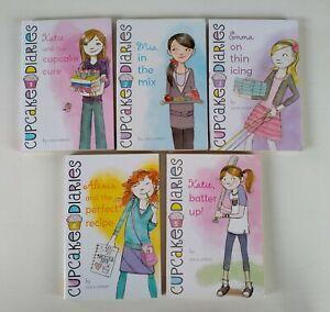 Bulk lot of 5 books - Cupcake Diaries by Coco Simon books 1-5
