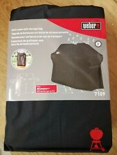 Weber Summit 600 Series - 620 670 - Gas Grill Cover 7109 - NEW - Storage Bag