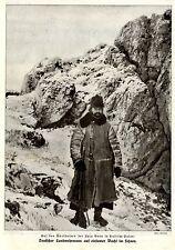 Lysa Gora in Russisch-Polen * Deutscher Landwehrmann auf Wacht Bilddokument 1915