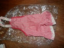 Gingham Girl Dog Apron, Size 10, Small, Fits Yorkie, Maltese, Toy Poodle