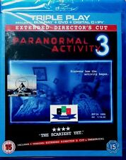 Paranormal Activity 3 (Extended Director's Cut) Blu-Ray/DVD Combo 2012 N&S