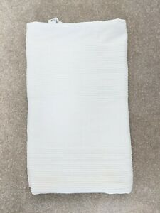 White Ikea Throw Indira 220cm x 250cm