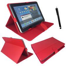 "Rot Tablet Tasche Hülle Case 20,3 cm 8 zoll BioniQ 8008  a-rival 8.0 zoll """