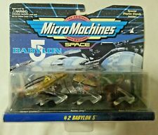 MICRO MACHINES - *New* Babylon 5 Die Cast Space Ships Set #2 Galoob Unopened