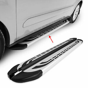 Side Steps Running Boards Nerf Bars Aluminum 2 Pcs For Nissan Frontier 2005-2015