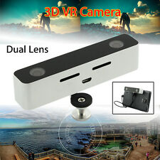 3D Video HD Dual Lens VR Camera for Android Mobile Phone 2560x720 100°Wide Angle