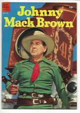 1955 Dell Four Color FC #618 Johnny Mack Brown VF-