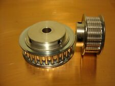 T5 Timing Pulley 10mm wide tapped with grubscrews 40 teeth with 6.35mm bore GB