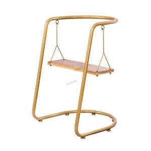 Nordic Living Room Chair Swing, Rocking Chair, Wrought Iron pipe, Leisure Chair