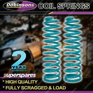 2 Pcs Rear Dobinsons 2 Inch Lift Medium Load Coil Springs for FORD Explorer U502
