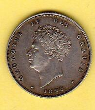 1825 George IV British Silver Shilling Great Britain