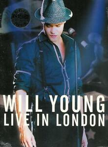 WILL YOUNG Live In London (2005) DVD NEW/SEALED