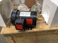 New WorldWide electric motor 1/2 hp 1725 rpm 3ph 56C frame 230-460 v tefc