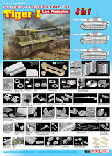 1/35 Dragon Pz.Kpfw.VI Ausf.E Tiger I Late Production 3 in 1 #6406