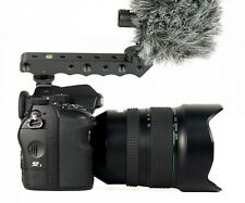 Top Handle Grip Video Camera Stabilizer With Hot Shoe Mount For Camera