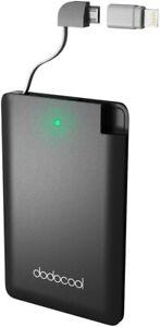 Dodocool batteria esterna caricabatterie 2500 mah portatile Power Bank
