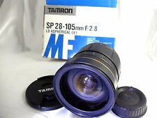 Tamron 28-105mm F2.8 LD Aspherical IF MANUAL FOCUS Lens for Nikon Ai-s SP 176A