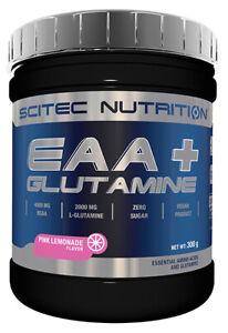 EAA+ Glutamine Scitec Nutrition 300 g Pink-Limonade MHD 09/21 (0,33 EUR/100 g)
