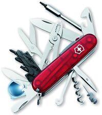 Victorinox Cybertool Swiss Army Knife 34 Lite Ruby Red New in Box Genuine 53969