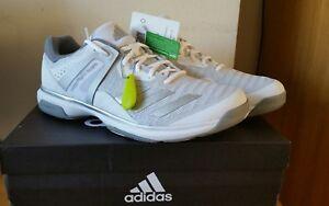 Adidas Men's Ortholite Crazyflight Team, White/Metallic Silver UK 10.5