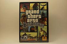 Grand Theft Auto San Andreas Second Edition Version (PC, 2005)