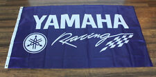 Yamaha Factory Racing Team Flag Garage Sign Banner Motorcycle Bike Moto GP New