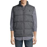 Men's U.S. Polo Assn. Puffer Vest Color: Dark Grey Heather MSRP $70
