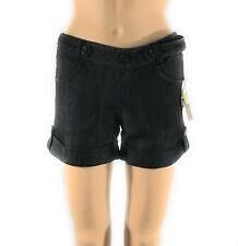 Copper Key Womens Shorts Junior Size 3 Denim Cuffed Hem - New NWT