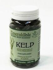 Kelp Capsules Certified Organic Pure Kelp Seaweed From Irish Atlantic Coast