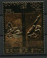 ZAMBIA, GOLD FOIL OLYMPICS, Swimming, Diving
