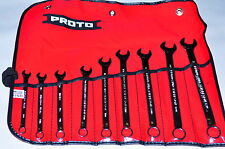 Proto® J1200HM-T500  9 Piece Full Polish Metric Combination Wrench Set 12 Point