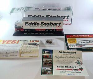 Atlas Eddie Stobart * Volvo FH Fridge Trailer Emma Jade * H4663 & Badge 1:76