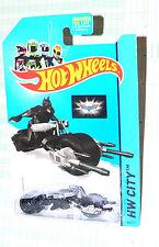 2014 Hot Wheels The Batman Bat-pod  #64/250  HW City        GFL2