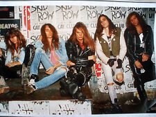 RARE SKID ROW 1989 VINTAGE ORIGINAL MUSIC POSTER