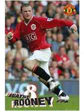 WAYNE ROONEY MANCHESTER UNITED MAN UTD MUFC POSTER NEW MAXI SP0351 X29