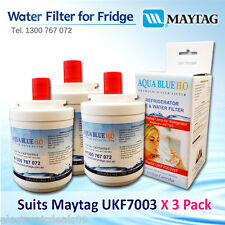 3 XMaytag  FRIDGE FILTER  REPLACEMENT UKF7003AXX Fridge Water Filter UKF7003AWF