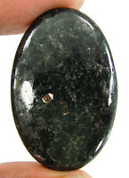 57.35 Ct Natural Nuummite Loose Gemstone Cabochon Wire Wrap Stone - 36342