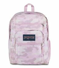 JanSport Big Student Dedicated Laptop Compartment Backpack Cotton Candy Camo