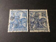 FRANCE 1929, VARIETE COULEUR timbre 257, Jeanne DARC, cheval, oblitéré, LOT B