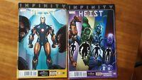 Infinity Heist 1-4 Direct Edition Marvel High Grade Comic Book RM13-40