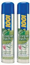 2 x 1001 Carpet Fresh Pet Thai Orchid Pet Odour Remover Quick Drying Foam 300ml