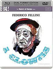 I CLOWNS di Federico Fellini DVD+BluRay DualDisc FILM in Italiano NEW .cp