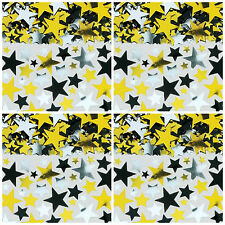Hollywood stars table confetti sprinkles - large bag black/silver/gold