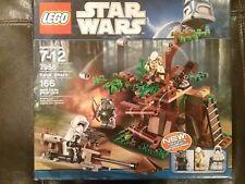 STAR WARS LEGO SET #7956 EWOK ATTACK, RARE, FACTORY SEALED