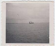 (F21595) Orig. Foto Wilhelmshaven Bremerhaven, Schiff im Jadebusen 1933