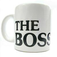 Waechtersbach Germany Mug Cup The Boss Black White Coffee Tea