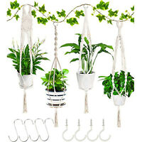 Exquisite Hand-woven Lace Wall-mounted Balcony Garden Decoration 12-piece Set