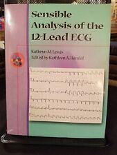 """Sensible Analysis of the 12-Lead ECG"" Brand New Unopened 2000 Kathryn Lewis"